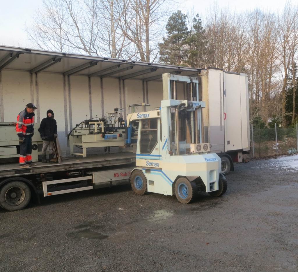 Loading Jagenberg ECO78