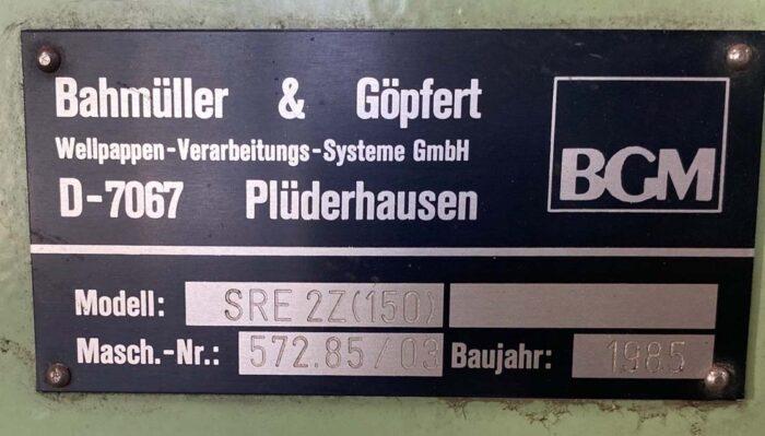 Gopfert SRE 2 z (150) box maker 1985 2